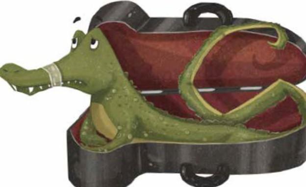 מה עושים עם תנין רעב במיוחד? סבתא טורבו (איור: רמי טל)