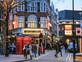 חיי הלילה של לונדון (צילום: shutterstock | vvoe)