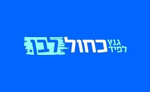 כחול לבן לוגו (צילום: מפלגת כחול לבן, חדשות)