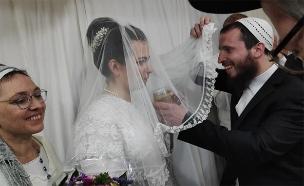 יואל וליזה מתחתנים (צילום: בני עקיבא, חדשות)