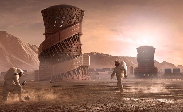 המשימה: מאדים (צילום: CNN, חדשות)