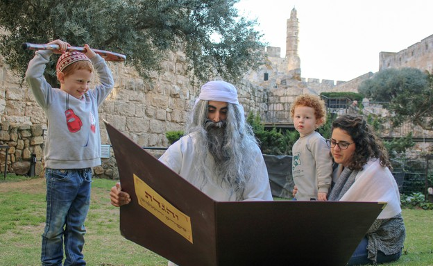 פסח במוזיאון מגדל דוד (צילום: ריקי רחמן)
