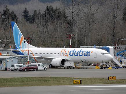 מטוס מדגם 737 מקס של בואינג