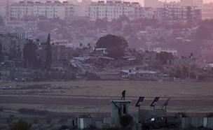 תקרית חריגה בגבול רצועת עזה (צילום: רויטרס, חדשות)