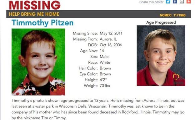 מודעת המשטרה על הילד שנחטף (צילום: רויטרס, חדשות)