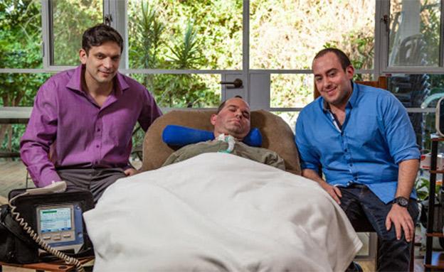 """שלושת המייסדים של eyecontrol (צילום: יח""""צ, חדשות)"""