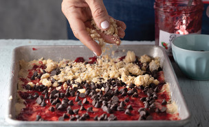 ריבועי ריבה, שוקולד ושטרויזל (צילום: דניאל לילה , דיסקו מתוקים, הוצאת כתר)