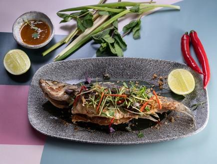 סיאם מסעדה דג שלם  (צילום: שי איפגן, יחסי ציבור)