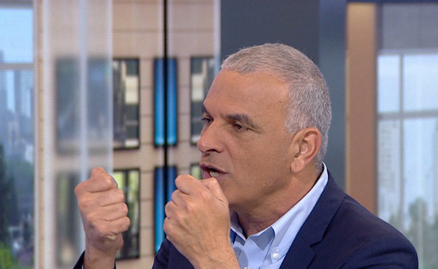 """ראיון עם משה כחלון, 48 שעות לבחירות (צילום: מתוך """"חדשות הבוקר"""" , קשת 12)"""