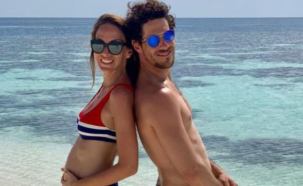 איילה רשף וטומי אלתגר בהריון שלישי (צילום: מתוך עמוד האינסטגרם של איילה רשף)