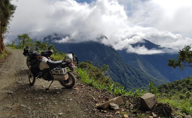 דרום אמריקה באופנוע (צילום: גיא מרמור)