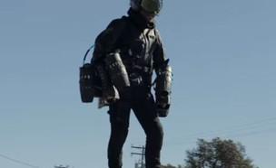 חליפת האיירון מן (צילום: Gravity Industries@YouTube)