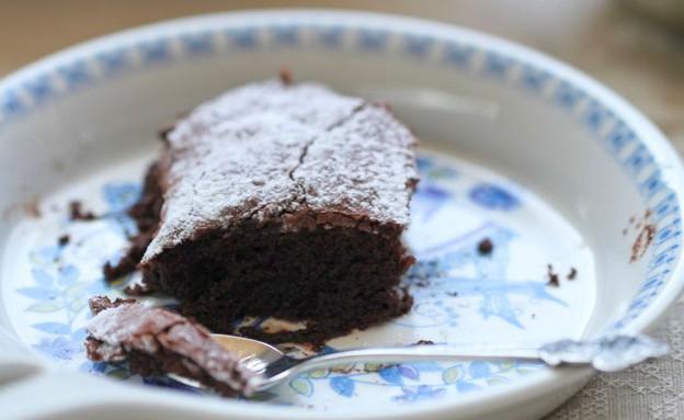 """עוגת פודינג שוקולד (צילום: עידית נרקיס כ""""ץ, אוכל טוב)"""
