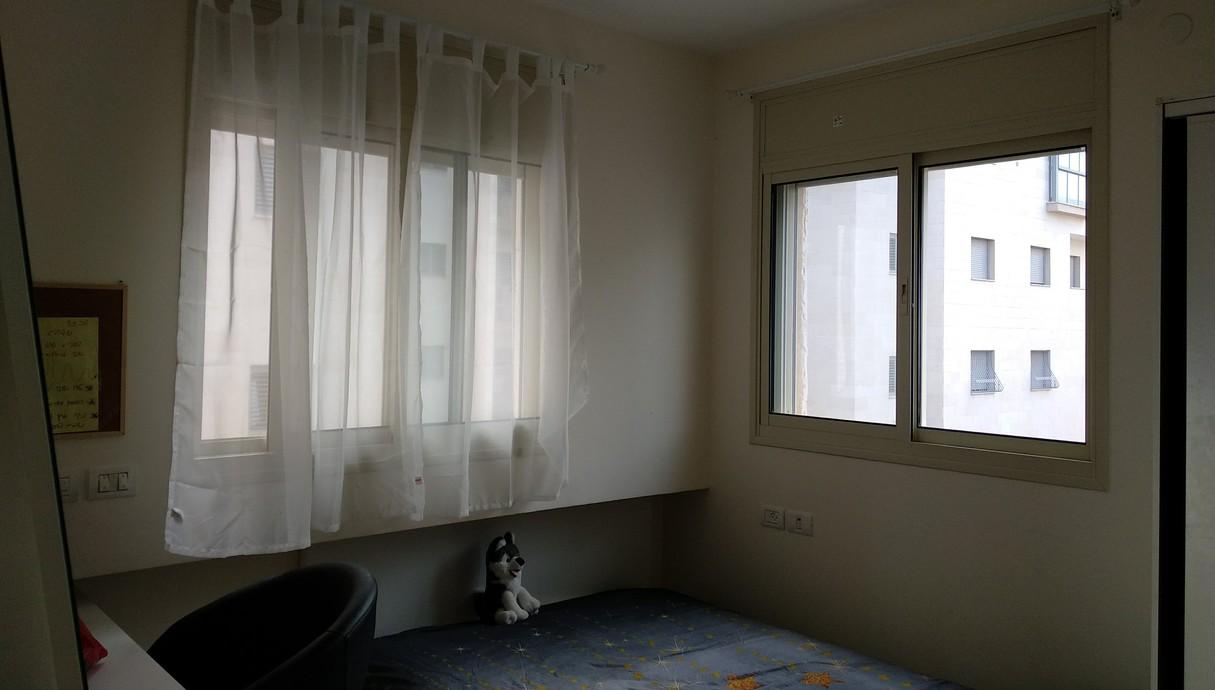 דירת קבלן בכפר סבא, עיצוב כרמית גת-בוצר, לפני שיפוץ - 1