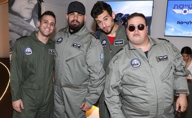 כוכבי הנוער הפכו לטייסי קרב (צילום: רפי דלויה)