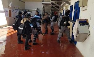 """אגף החמאס בכלא קציעות, ארכיון (צילום: דוברות שב""""ס, חדשות)"""