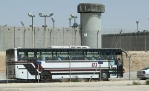 2 סוהרים נפצעו. כלא קציעות (צילום: FLASH90, חדשות)