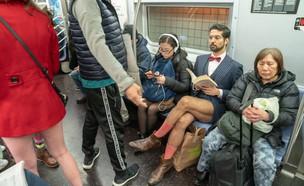 נוסע בסאבווי ניו יורק (צילום:  David 'Dee' Delgado, Getty Images)
