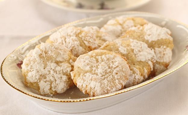 עוגיות שקדים לפסח (צילום: חן שוקרון, אוכל טוב)