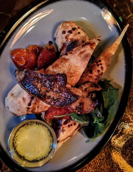 ביג מאמא מסעדה חדשה כבד אווז (צילום: אלדד שומרון, יחסי ציבור)
