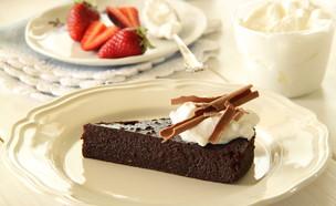 עוגת שוקולד לפסח 1 (צילום: חן שוקרון, אוכל טוב)
