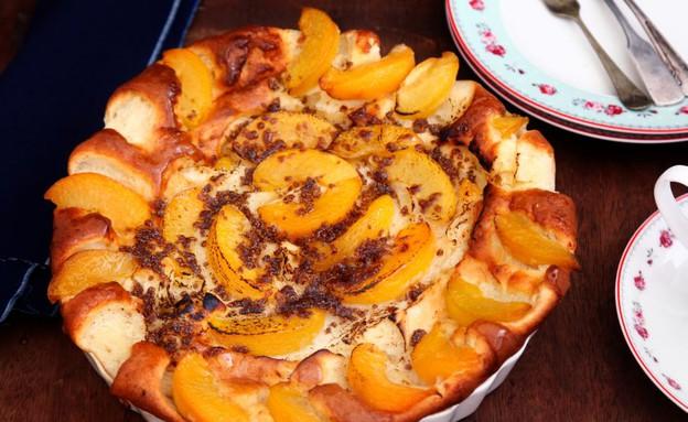 עוגת אפרסקים בחושה (צילום: אפיק גבאי, אוכל טוב)