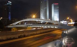 כך ייראה הגשר בתום העבודות (צילום: חן אדריכלים, חדשות)