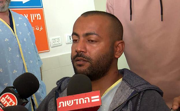 הכלאי שגיא שילוואן משחזר (צילום: החדשות)
