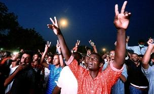 תיעוד: הפגנות נרחבות בסודן (צילום: רויטרס, חדשות)