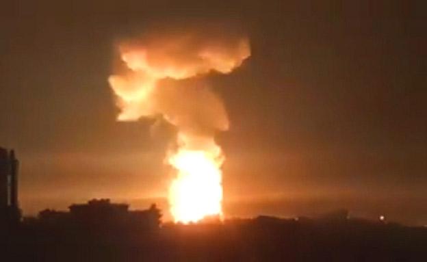 תקיפה בסוריה, ארכיון (צילום: חדשות)