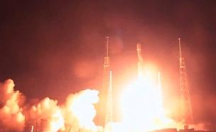"""שיגור החללית הישראלית """"בראשית"""" (צילום: SPACEIL, חדשות)"""