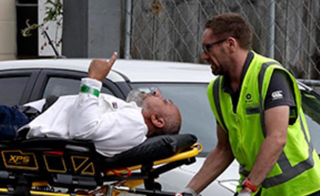 אירוע הירי במסגד בניו זילנד, ארכיון (צילום: ap, חדשות)