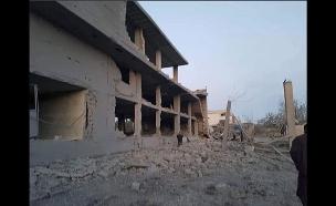 כך נראה ההרס בשטח (צילום: חדשות)