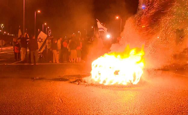 מלחמת הבחירות הפינימית של תושבי הדרום (צילום: החדשות)