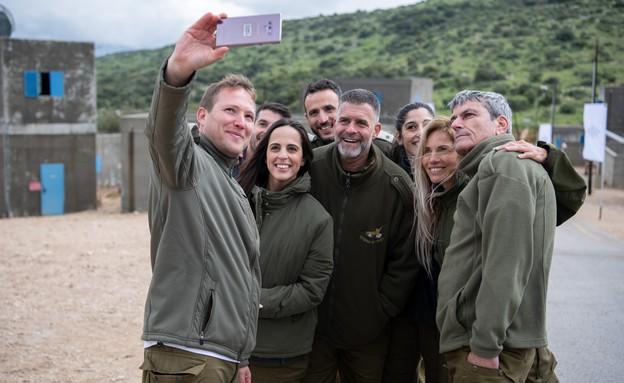 נבחרת המילואים של ישראל (צילום: באדיבות גרעיני החיילים)