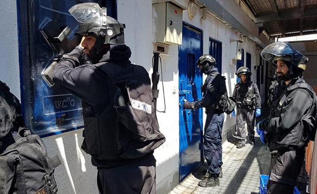 """אגף החמאס בכלא קציעות (צילום: דוברות שב""""ס, חדשות)"""