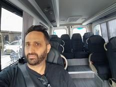 נסיעת מבחן: המיניבוס שמזמינים באפליקציה