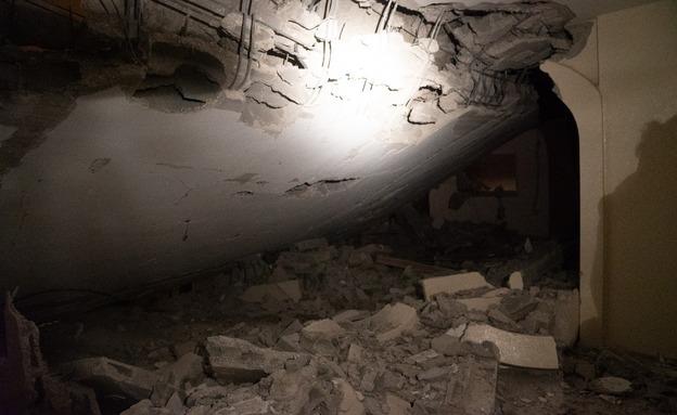 """הריסת בית המחבל מהפיגוע בעפרה (צילום: דובר צה""""ל, חדשות)"""