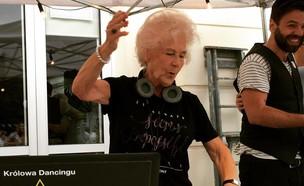 בת 80 מתקלטת בפולין (צילום: צילום מסך מתוך האינסטגרם )