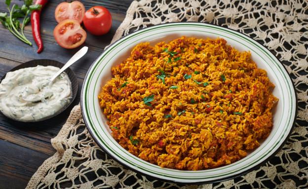 קיצ'רי עם אורז מלא (צילום: נמרוד סונדרס, אוכל טוב)