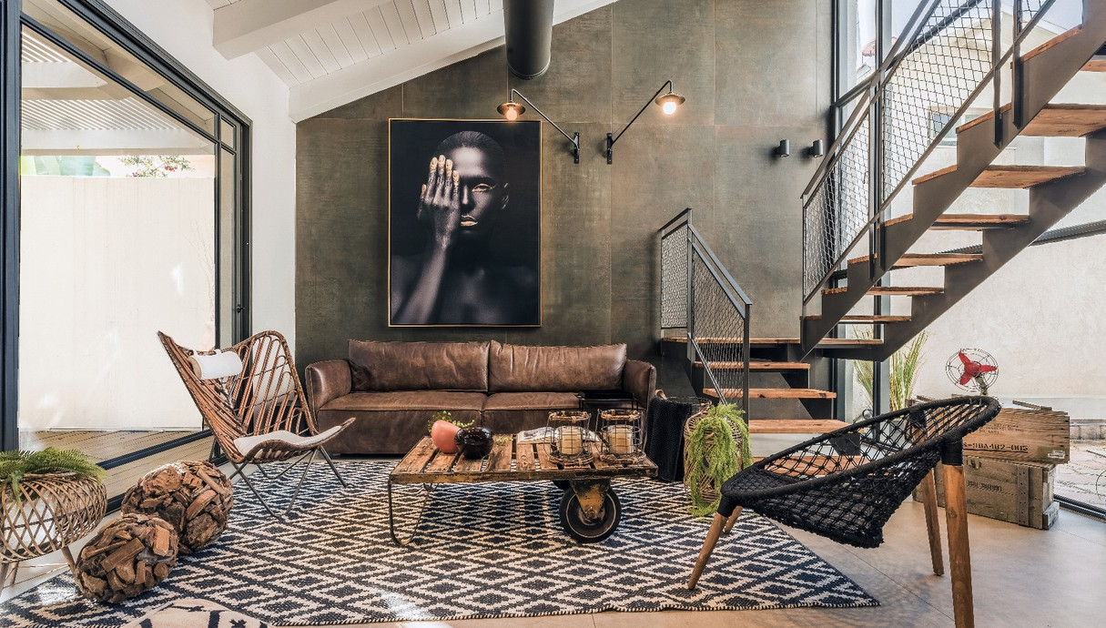 בית במרכז, עיצוב אודליה ברזילי - 1