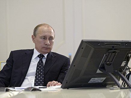 פוטין (ארכיון) (צילום: AP, חדשות)