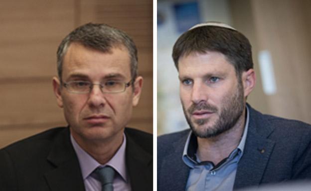 שר המשפטים הבא: לוין או סמוטריץ' (צילום: הדס פארוש, יונתן זינדל / פלאש90, חדשות)