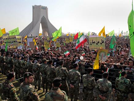 משמרות המהפכה (ארכיון) (צילום: ap, חדשות)