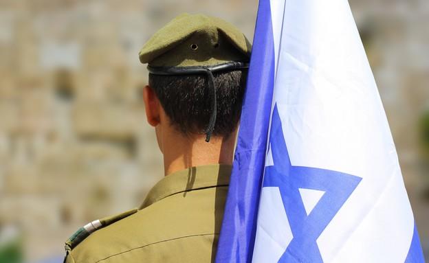 חייל ישראלי (צילום: Max Zalevsky, shutterstock)