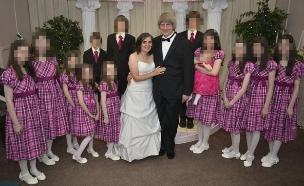 משפחת טורפין (צילום: CNN, חדשות)