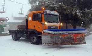 צפו: שלג בחרמון גם בפסח (צילום: אתר החרמון, חדשות)