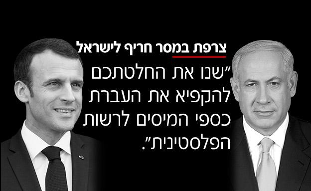 צרפת במסר חריף לישראל (צילום: החדשות)