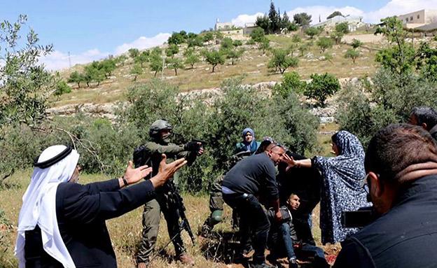 עימותים חריפים (צילום: מוסטפא אל באדן, חדשות)