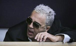 קובי פרץ בבית המשפט (צילום: Photo by Flash90)